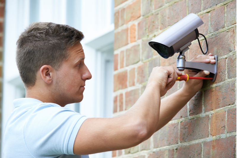 We look at the pros and cons of a home security system vs a DIY instalation.